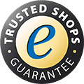 Trusted Shops Gütesiegel - Käuferschutz inklusive