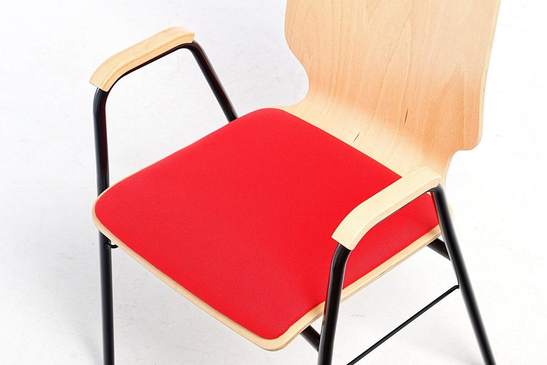 Die Sitzpolster sind robust und komfortabel zugleich