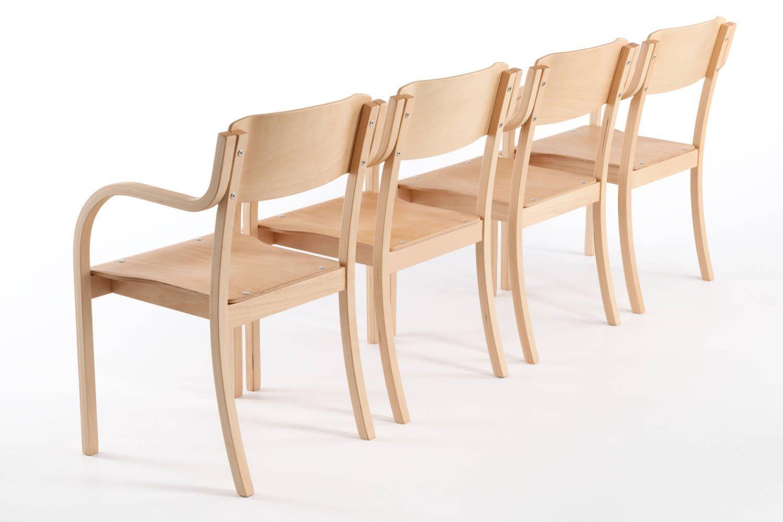 Stühle Mit Armlehnen Aus Holz Dheli AL
