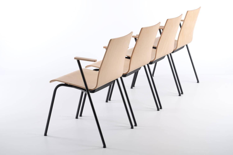 Auch in Stuhlreihen ein perfektes Bild