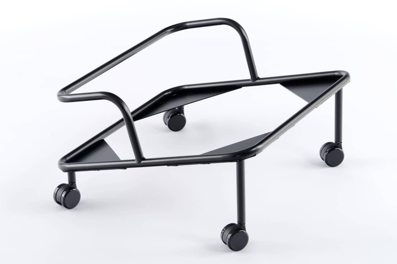 Der praktische Transportwagen ist optional erhältlich