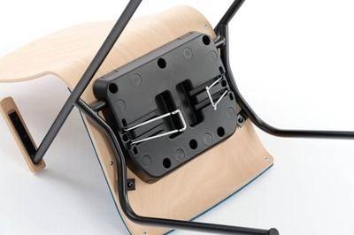 Bei Nichtgebrach können die Verbinder einen weggeklappt werden