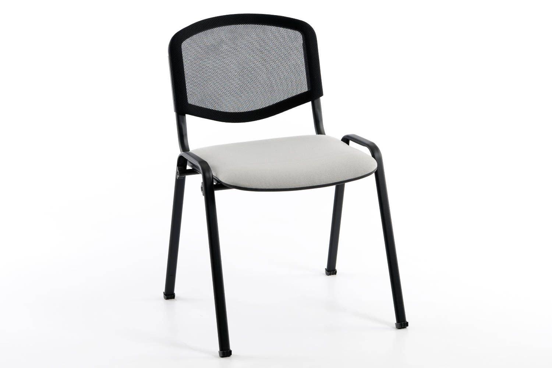 Unser Iso-Stuhl mit einer sehr bequemen Netzrückenlehne