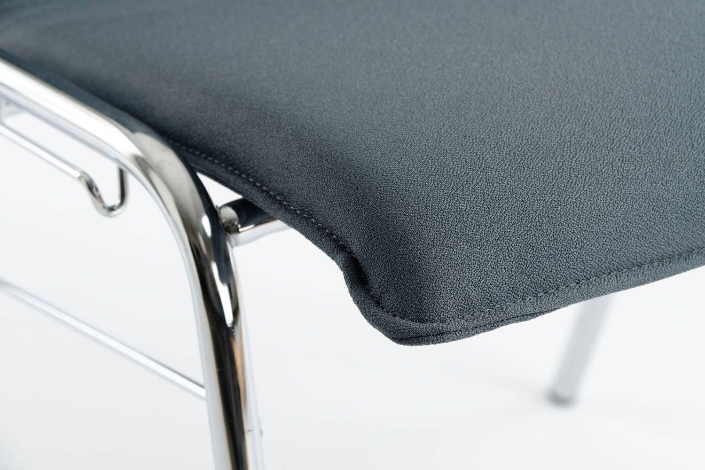 Perfektes Design von Gestell und Sitzschale