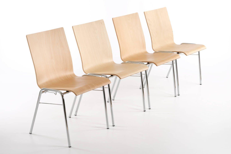Mit dem optionalen festen Verbindern lassen sich schnell Stuhlreihen stellen