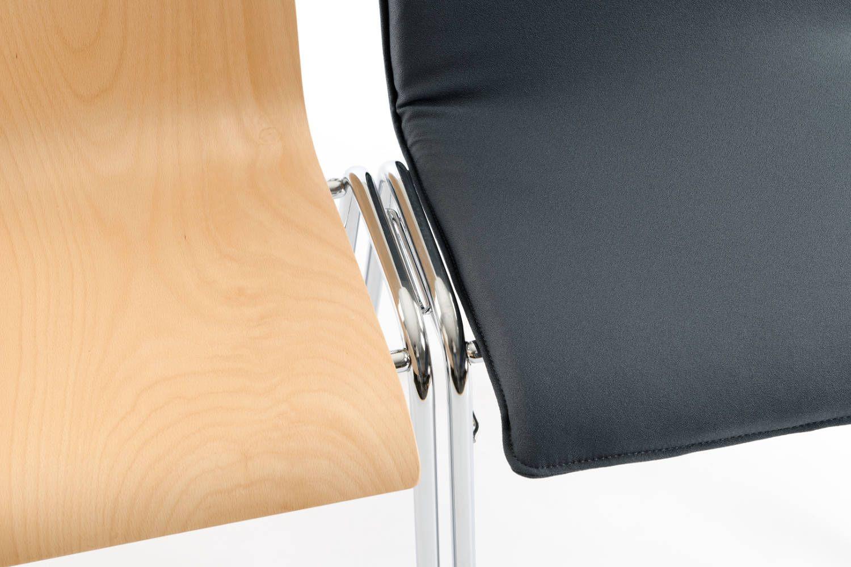 Schnelle stabile Stuhlreihen entstehen
