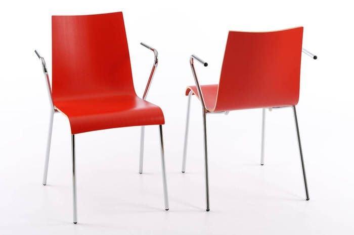 Ansprechende Holzstühle Mit Armlehnen Stuhloase