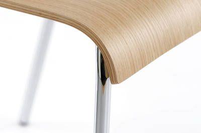Abgerundete Kante der Sitzfläche für ein noch  besseres Sitzgefühl