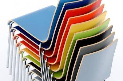 Viele Farben stehen zur Auswahl bereit