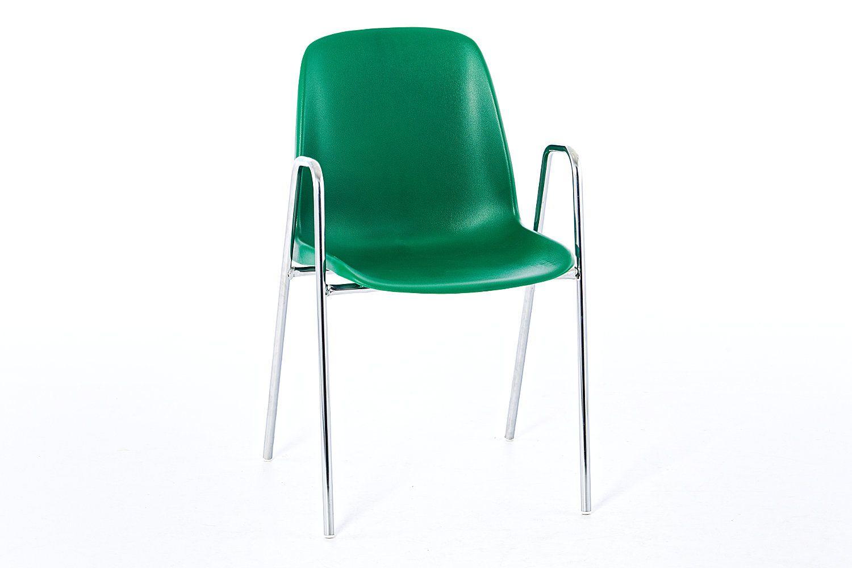 Unser Armlehnenstuhl mit der pflegeleichten Kunststoffschale