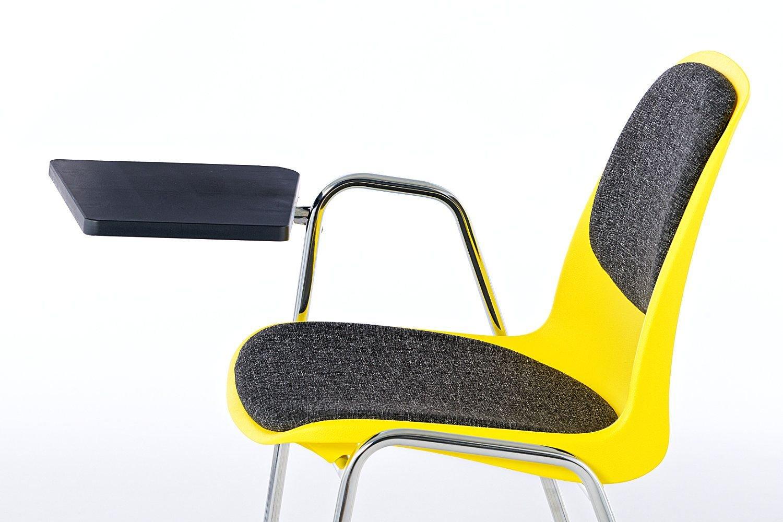 An Rückenlehne und Sitzfläche gepolstert lädt der Mali SP RP ST zum Lernen ein