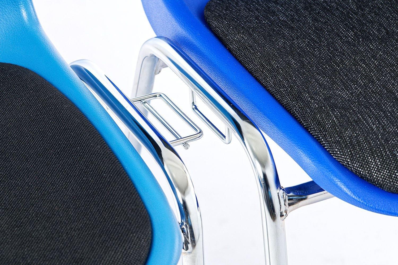 Schnell ist ein Verrutschen der Stühle ausgeschlossen