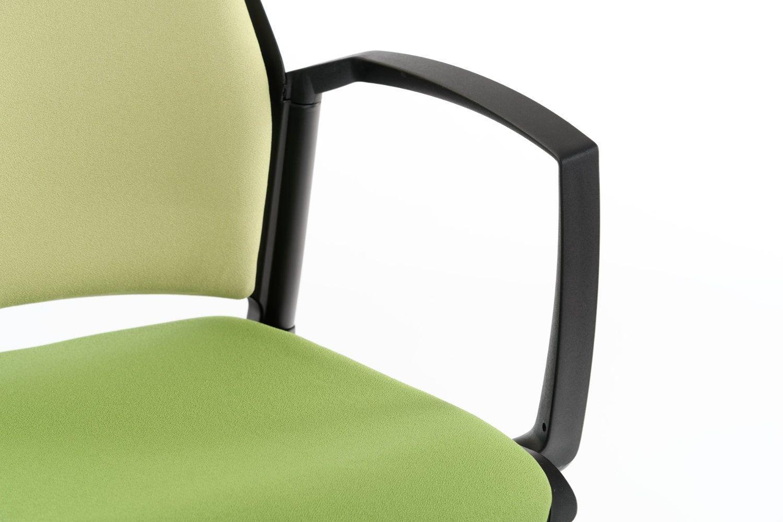 Gepolsterte Freischwinger Stühle Mit Armlehnen