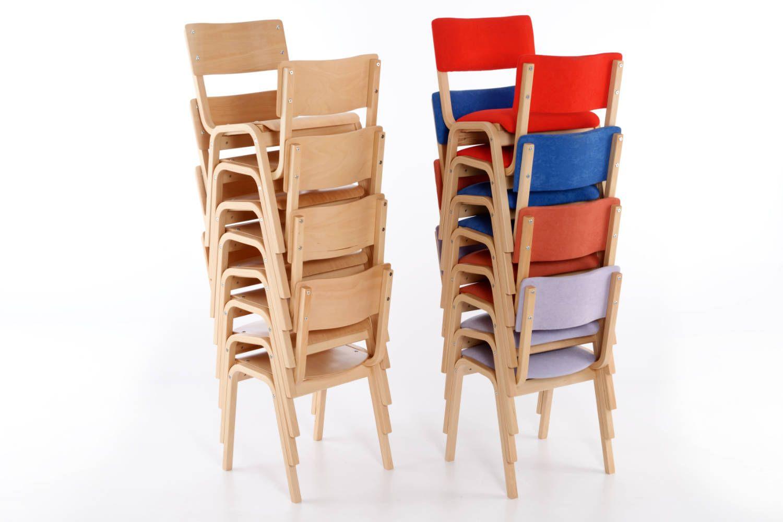 robuste holzst hle mit sitzpolster perth sp stuhloase. Black Bedroom Furniture Sets. Home Design Ideas
