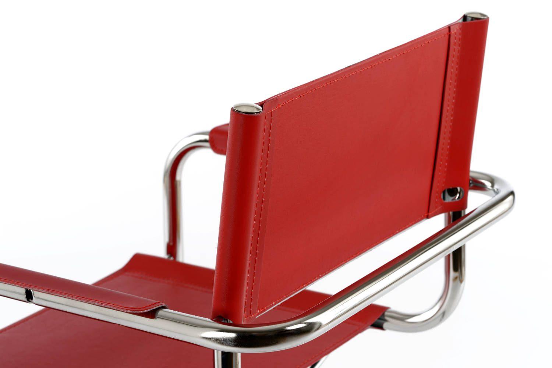 Die robuste und funktionelle Verarbeitung zeichnet diesen Stuhl aus