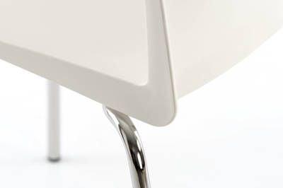 Die Rückenlehne und Sitzfläche ergeben eine Einheit