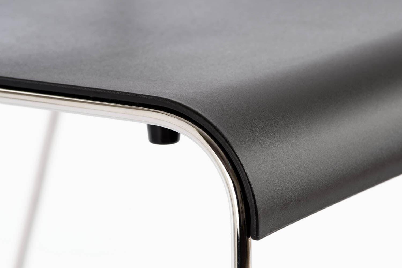 Perfekt abgerundete Sitzfläche zum Übergang mit dem Gestell