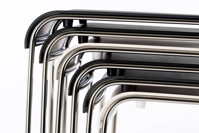 Elegantes Design trifft die perfekte Kombination aus Metall und Kunststoff