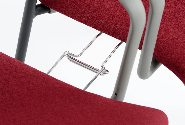 Schnell und einfach können feste Stuhlreihen  erzeugt werden