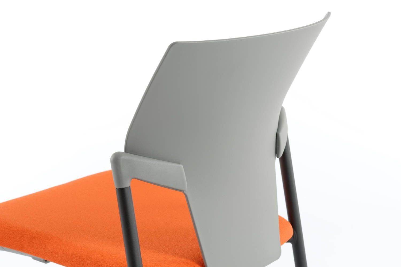 Die ergonomische Rückenlehne des Vegas SP stützt besonders den unteren Rückenbereich